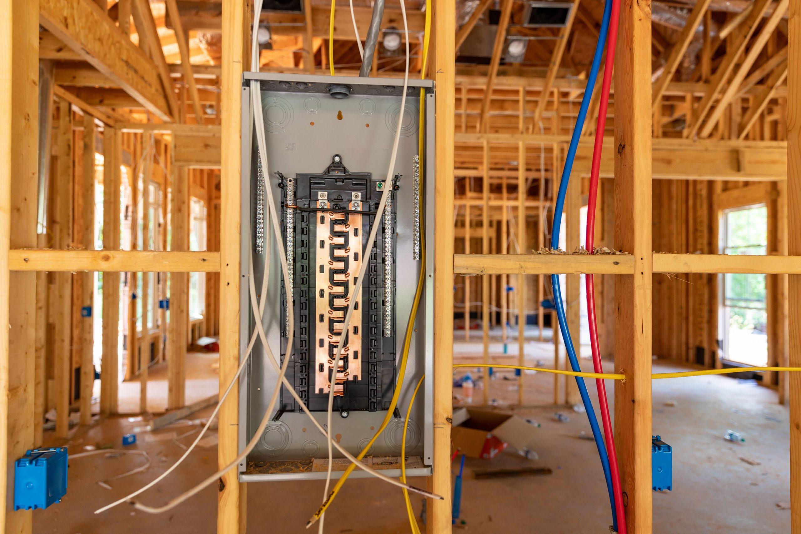 electricien maison neuve construction
